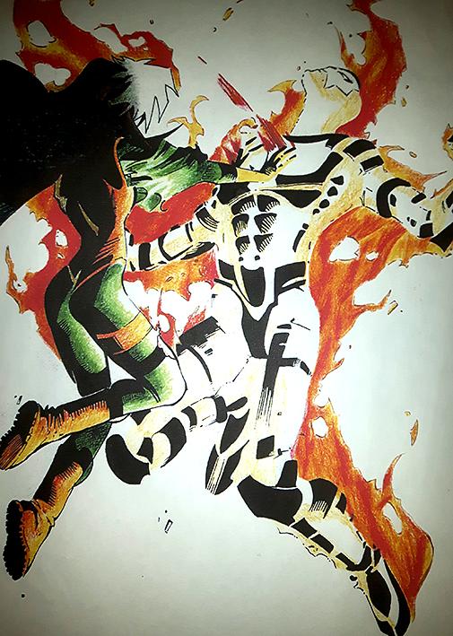 Rogue & Sunfire